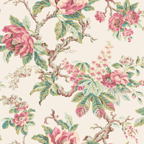 PV2917 York Ronald Redding Legacy Vintage Garden Wallpaper Rose