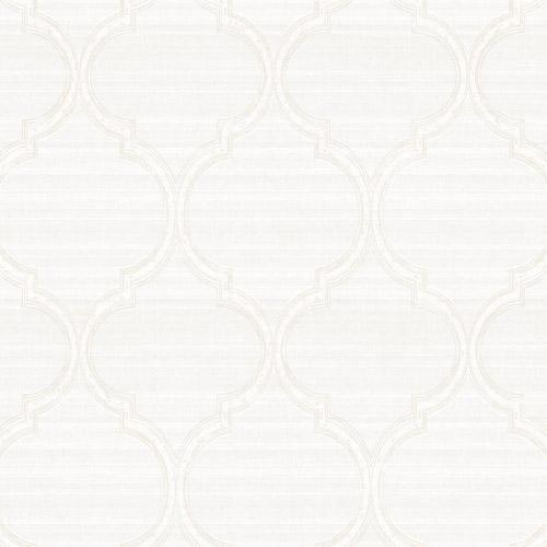 PV2925 York Ronald Redding Legacy Silk Trellis Wallpaper Pearl