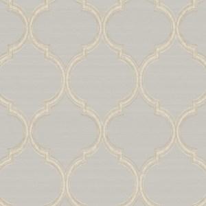 PV2928 York Wallcoverings Ronald Redding Legacy Silk Trellis Wallpaper Grey