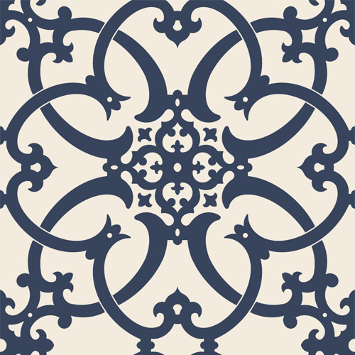 PV2988 York Ronald Redding Legacy Antiquity Wallpaper Midnight Blue