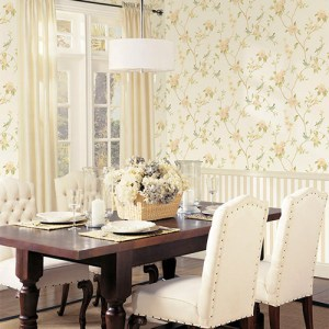 Patton Wallcoverings Rose Garden 2 Spring Floral Wallpaper Roomselt
