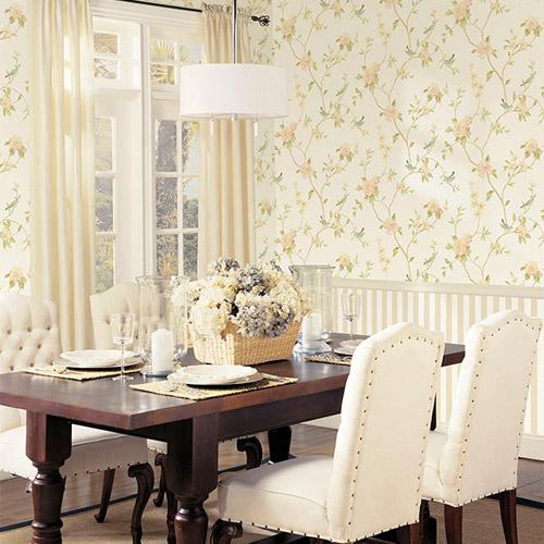 Patton Wallcoverings Rose Garden 2 Spring Floral Wallpaper Roomselt