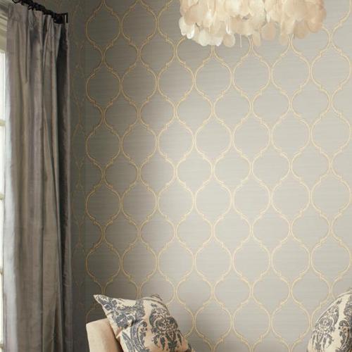 Silk Trellis Wallpaper  Lelands Wallpaper