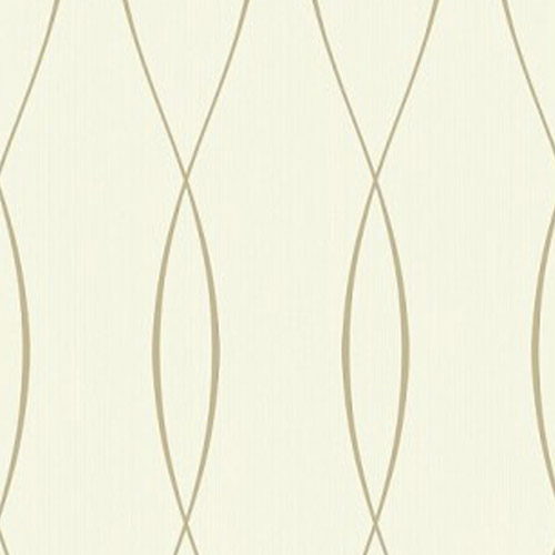 TR60703 Seabrook Wallcoverings Trois Wavelength Wallpaper Tan
