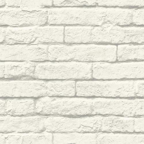 MH1555 York Wallcoverings Joanna Gaines Magnolia Home Brick and Mortar Wallpaper