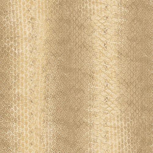G67425 Patton Wallcoverings Natural FX Snakeskin Wallpaper Tan
