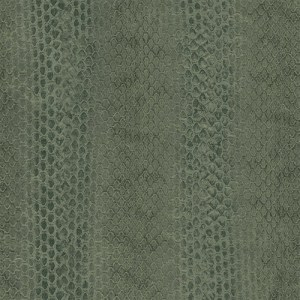 G67427 Patton Wallcoverings Natural FX Snakeskin Wallpaper Green