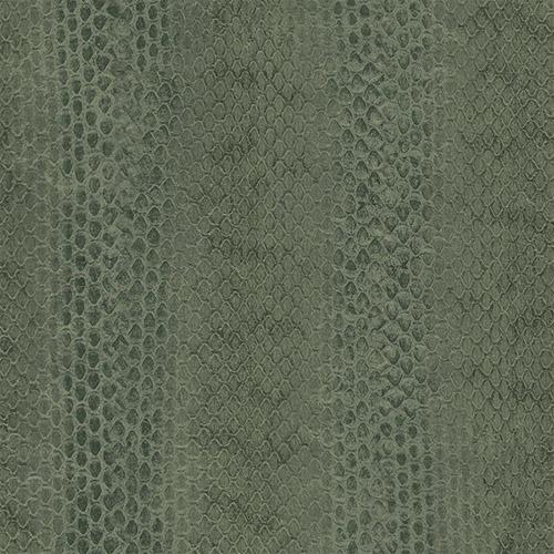 G67427 Patton Wallcoverings Natural FX Snakeskin Wallpaper Green