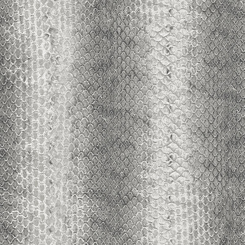 G67429 Patton Wallcoverings Natural FX Snakeskin Wallpaper Black