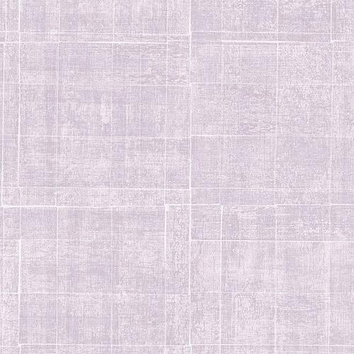 G67457 Patton Wallcoverings Natural FX Brushed Mosaic Wallpaper Lilac