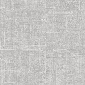 G67460 Patton Wallcoverings Natural FX Brushed Mosaic Wallpaper Platinum