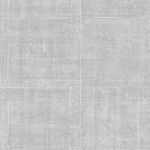 G67460 Patton Wallcoverings Natural FX Brushed Mosaic Wallpaper Platinum