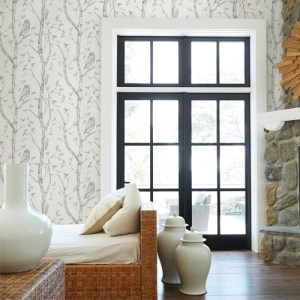 Brewster Wallcoverings Eclipse Neptune Forest Wallpaper Roosmet