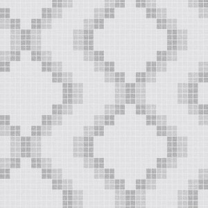 2716-23863 Brewster Wallcoverings Eclipse Mosaic Grid Wallpaper Gray