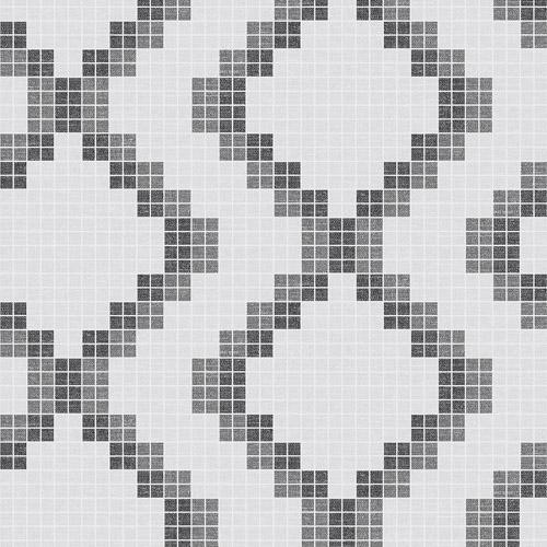 2716-23864 Brewster Wallcoverings Eclipse Mosaic Grid Wallpaper Black
