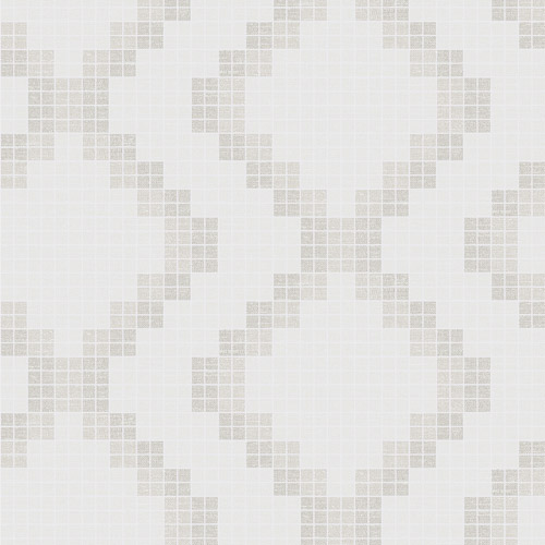 2716-23865 Brewster Wallcoverings Eclipse Mosaic Grid Wallpaper Taupe