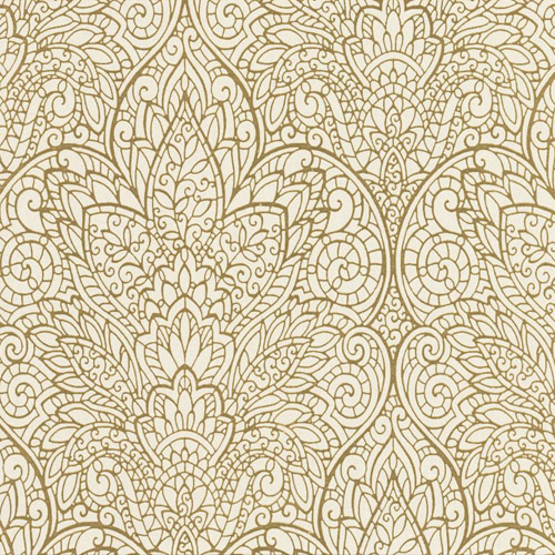 CD4009 York Wallcoverings Candice Olson Decadence Paradise Wallpaper Beige