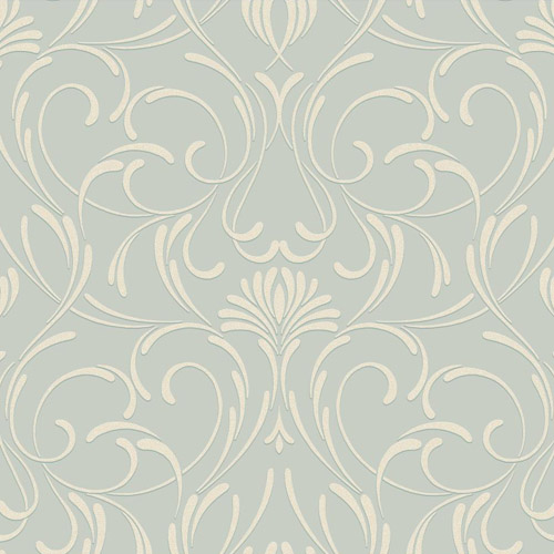 CD4090 York Wallcoverings Candice Olson Decadence Amour Wallpaper Mint