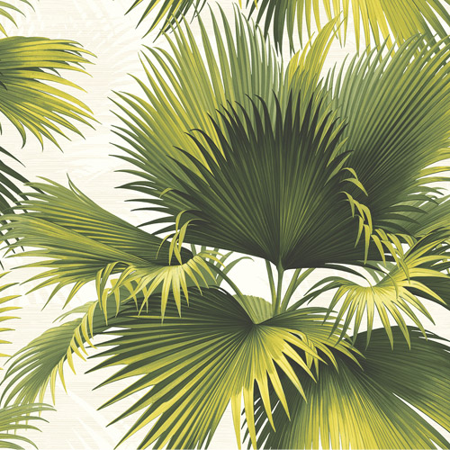 PS40114 Brewster Wallcoverings Kenneth James Palm Springs Endless Summer Wallpaper Light Green