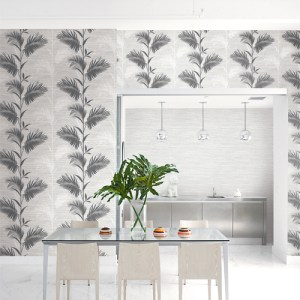 Brewster Wallcoverings Kenneth James Palm Springs Away On Holiday Wallpaper Roomset