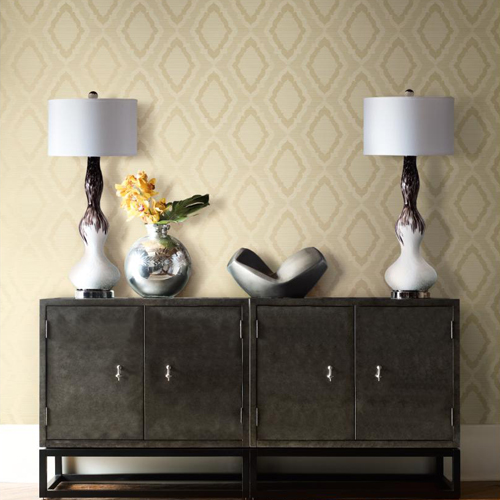 York Wallcoverings Candice Olson Decadence Amulet Wallpaper Roomset