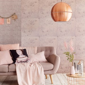 Brewster Wallcovering Eijffinger Resource Mancha Speckle Wallpaper Roomset