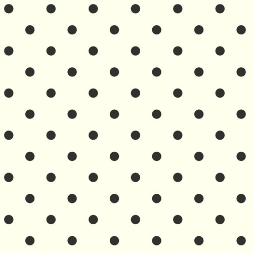 AB1926MH York Wallcoverings Joanna Gaines Magnolia Home Dots on Dots Wallpaper Black