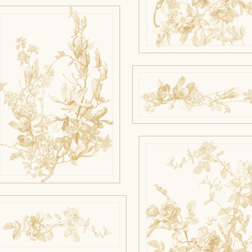 MH1546 York Wallcoverings Joanna Gaines Magnolia Home The Magnolia Wallpaper Yellow