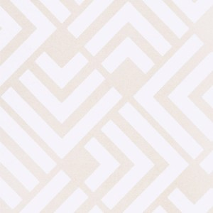 366040 Brewster Wallcoverings Eijffinger Geonature Zig Geometric Wallpaper Neutral