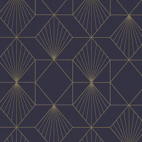 Halcyon Geometric Wallpaper From Eijffinger Geonature By