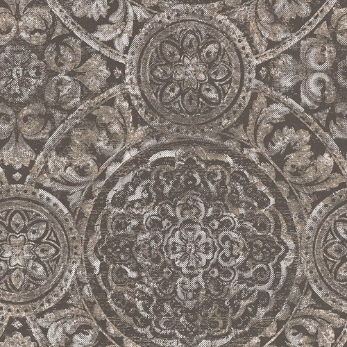 MC71600 Seabrook Wallcoverings Majorca Ibiza Wallpaper Charcoal