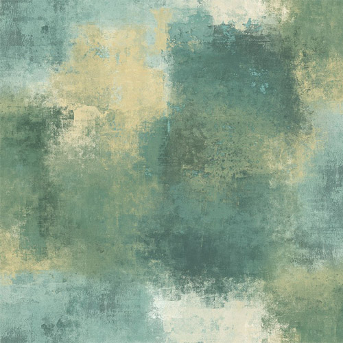 MC72202 Seabrook Wallcoverings Majorca Cyprus Abstract Wallpaper Turquoise