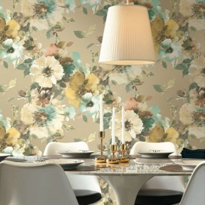 Seabrook Wallcoverings Majorca Cyprus Wallpaper Roomset