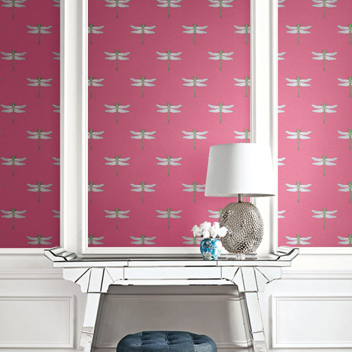 Seabrook Wallcoverings Tortuga Catalina Wallpaper Roomset