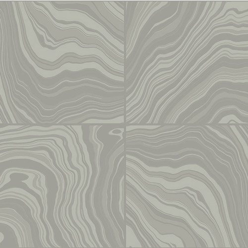 ML14310 Seabrook Wallcoverings Modena Castiletta Wallpaper Taupe Gray