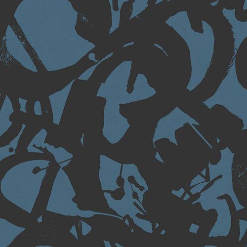 RL61302 Seabrook Wallcoverings Retro Living Laverne Wallpaper Blue