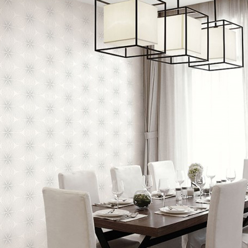 Seabrook Wallcoverings Retro Living Lucy Wallpaper Roomset