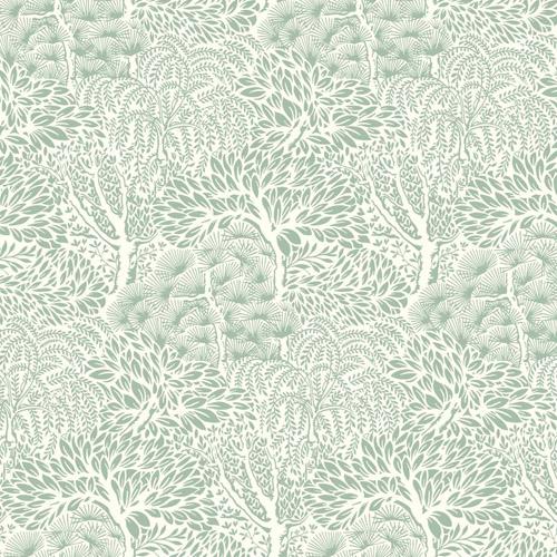 DR6341 York Wallcoverings Dwell Studio Miyuki Wallpaper Sage