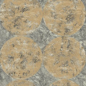 MW30005 Seabrook Designs Metalworks Fulton Wallpaper Gold
