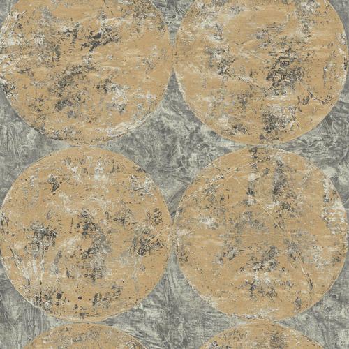 MW30005 Seabrook Designs Metalworks Fulton Wallpaper Gold