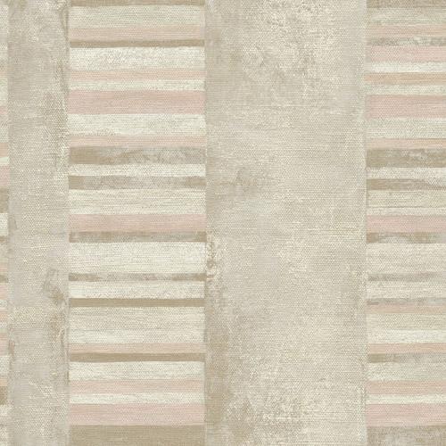 MW30301 Seabrook Deisgns Metalworks Judson Wallpaper Pink