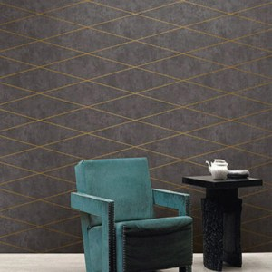 Seabrook Wallcoverings Jupiter Contemporary Wallpaper Room Setting