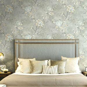 Seabrook Wallcoverings Carl Robinson Sea Glass Ogden Wallpaper Room Setting
