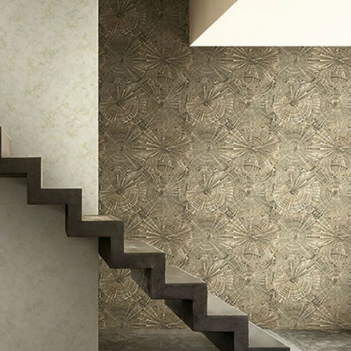 Seabrook Wallcoverings Carl Robinson Sea Glass Opal Wallpaper Room Setting