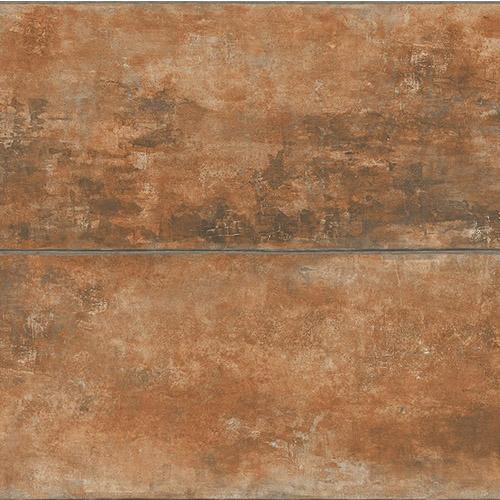 CR76901 Seabrook Wallcoverings Carl Robinson Sea Glass Ollerton Wallpaper Rust