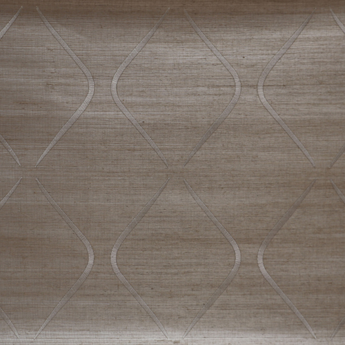 DL2901 York Wallcoverings Candice Olson Natural Splendor Marquise Wallpaper Pewter