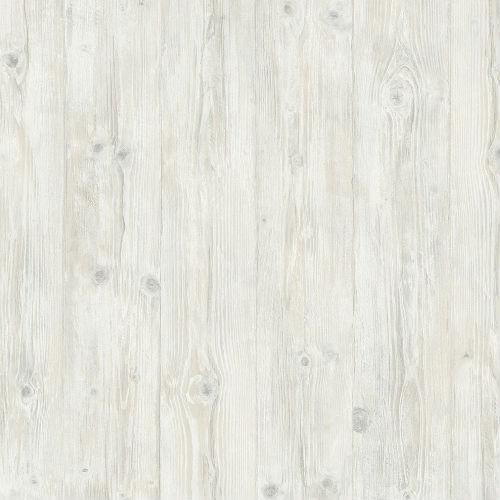 LL29501 Patton Wallcoverings Norwall Illusions 2 Rustic Wood Wallpaper Cream