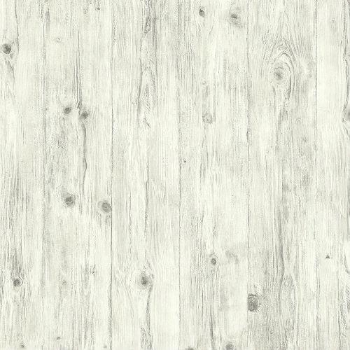 LL36205 Patton Wallcoverings Norwall Illusions 2 Rustic Wood Wallpaper Gray