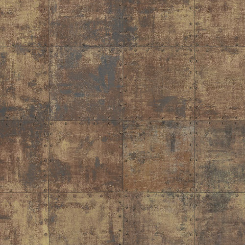 Rustic Tin Wallpaper from Norwall Illusions 2 by Patton Wallcoverings
