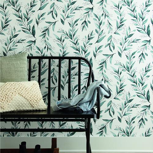 Joanna Gaines Olive Branch Wallpaper by York - Arlington, TX